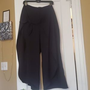OPEN SWING PANTS wrap around bow in front